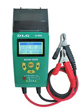 DLG DI-205C Automotive 12V/ 24V Battery Tester with Printer English and Spanish