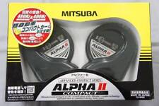 MITSUBA HOS-04G ALPHA II Compact Horn Car Mitsuba San Kowa Made in Japan F/S New