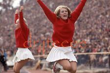 1969 OKLAHOMA SOONERS Cheerleader - 35mm Football Slide