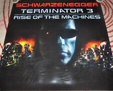 2003 TERMINATOR 3 RISE OF THE MACHINES RARE PROMO POSTER