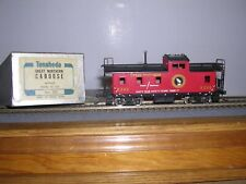 BRASS Tenshodo #350  Great Northern Caboose #X288 w/Kadees H.O.Scale 1/87