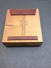 Cigarbox Stompbox Foot Tap Drum Rhythm  Pedal