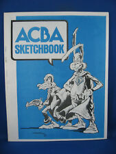 ACBA SKETCHBOOK F VF 1975 WRIGHTSON WOOD ADAMS