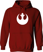 Unisex Pullover Hoodie Sweater Star Wars Rebel Alliance Rebellion Jedi Fleece