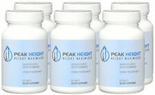 Peak Height Maximizer, 6 Month Supply 90 Tablets Pack of 6)Health Bottle pills