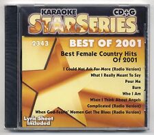 SOUND CHOICE KARAOKE SC-2343 FEMALE COUNTRY, FACTORY SEALED STAR SERIES CD+G OOP