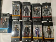 Star Wars Black Series Lot of 9 Mandalorian The Bad Batch The Rise of Skywalker