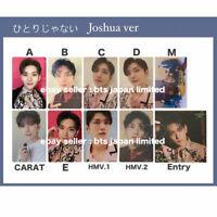 SEVENTEEN Joshua Official Photo card HITORIJANAI A B C D Normal CARAT PC