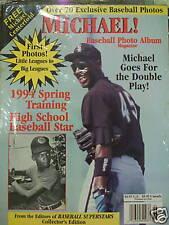 Michael Jordan Baseball Photo Album Magazine