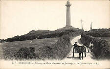 Guernsey. Jerbourg. Doyle Monument # 147 by LL / Levy. Black & White.