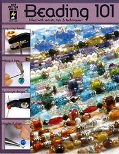 Beading Jewelry Making Craft Book Beading 101 Bead Stringing Designs BOOK1