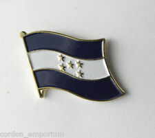 Honduras National Country World Single Flag Lapel Pin Badge 1 Inch