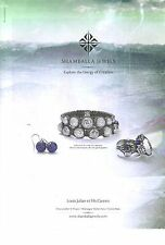 PUBLICITE ADVERTISING  2012  SHAMBALLA JEWELS  bijoux joaillerie