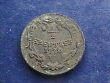 1/2 Kreuzer 1772 W Joseph II.  W/19/622