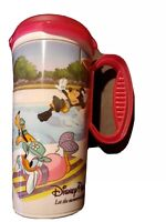 Walt Disney Parks Resort Rapid Fill Refillable Travel Mug Pink Fab 5 Characters