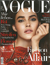 Vogue Deutsch (Germany) Magazine - Januar (January) 2016 - Vanessa Moody
