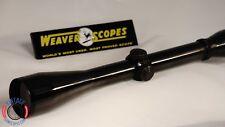 Vgs Refurbished. Weaver Scope, K6 60C Rifle Scope.