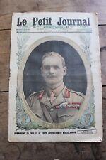 Petit journal dibujada nº1367 1917 General Sir William Birdwood Australiano