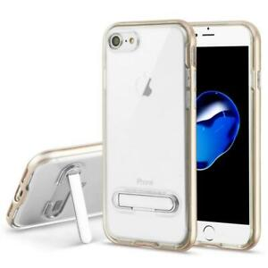 Slim Stand TPU Clear Shockproof Armor Case Cover For IPhone SE 2020 /8/7/6/6S