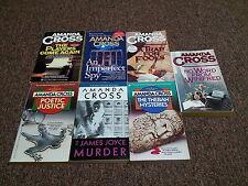 AMANDA CROSS  8 murder mystery books SERIES: KATE FANSLER MYSTERY
