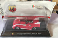 "DIE CAST "" 2000 SPIDER PROTOTIPO (SE 021) - 1971 "" + TECA  BOX 2 SCALA 1/43"