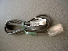 Câble RJ45 mâle/mâle noir 4 fils 1,20 m Ethernet réseau Network modem Téléphone