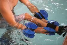 Aqualogix Maximum Resistance Aquatic Fins - Use on Lower or Upper Body - HRBBLS
