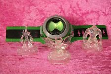 Ben 10 Ultimate Omnitrix Watch & 3 Cristal Toppers Luz & Sonidos Bandai 2008