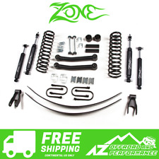 "ZONE 4.5/"" Suspension Lift Kit Rear Springs Jeep Cherokee XJ 91-01 Chrysler 8.25"