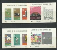 MEXICO. Año: 1968. Tema: OLIMPIADAS DE MEXICO-1970.