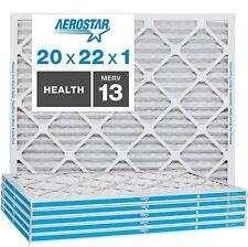 Aerostar Merv 13 20 x 22 x 1 Replacement Air Filter (Pack of 5)