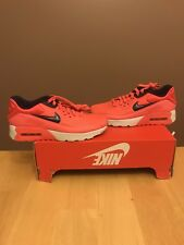 Nike Air Max 90 Ultra SE (GS) 6Y (Women's 7.5) $110 Infrared Red October