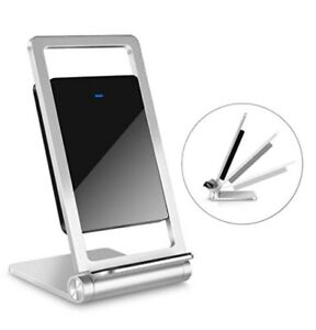 Foldable Quick Wireless Charger Stand for iPhone & Android