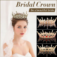 Wedding Bridal Princess Rhinestone Tiara Crown Headband Women Hair Accessories