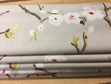 Made to measure roman blind made up in Prestigious textiles EMI fabric mulberry