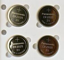 4 NEW PANASONIC CR2025 ECR 2025 Batteries 3V Exp.2025
