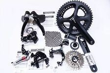 Shimano 105 5800 Road 50/34T Full Groupset Group Black 170MM 12-25T 2x11 Speed