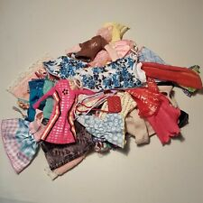 Mattel Barbie outfit lot, 35 pieces of doll clothes. Ken, Barbie, chelsea size.