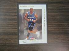 2001-02 Fleer Premium # 5 Michael Jordan Card (J) Washington Wizards