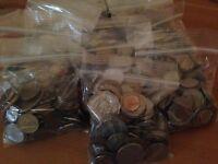 Bulk Lot of 100 Assorted World Foreign Coins! Nice Starter Lot!