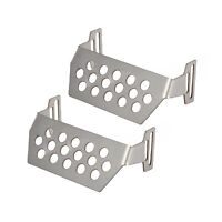 Stainless Steel Front + Rear Chassis Guard For 1/10 Redcat GEN8 Scout II RC Car