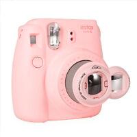 Close Up Lens+Selfie Mirror for Fujifilm Instax Mini 9 8 7s Polaroid 300 - Pink