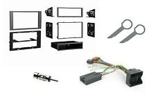 CTKFD22 Ford Galaxy 06on Double Din Car Stereo Fitting Kit stalk control SILVER