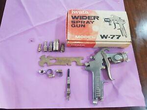 Iwata Wider Spray Gun   Model  w-77