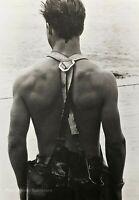 1981 Vintage BRUCE WEBER Male Model Jon Clammer Martha Vineyard Photo Art 16X20