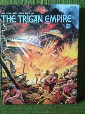 THE LOOK AND LEARN BOOK OF THE TRIGAN EMPIRE - DON LAWRENCE ART - 1973 1st Edn