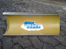 """HASKi """"PLUS"""" Handschneepflug / Schneeschieber mit V2A-Edelstahl-Schürfleiste"""