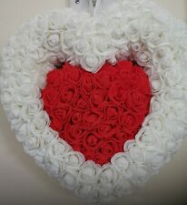 Crafted WitH Love 100% Handmade Foam Rose Heart 30cm