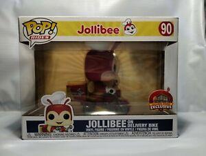 Funko Pop Rides Jollibee on Delivery Bike