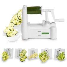 Spiralizer 5-Blade Vegetable Slicer- Strongest-Heaviest Duty Veggie Paleo/low ca